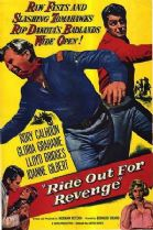 Ride Out for Revenge  1957 DVD - Rory Calhoun / Gloria Grahame